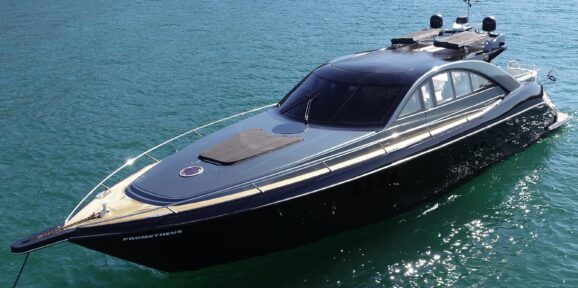 Prometheus Motor Yacht in Sydney available for private charters all year round.